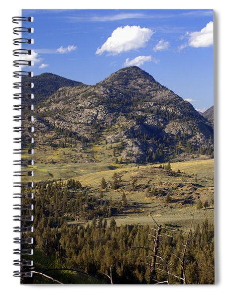 Blacktail Road Landscape 2 Spiral Notebook