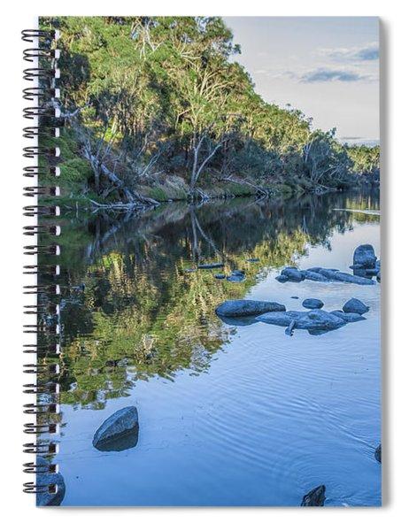Blackwood River Rocks, Bridgetown, Western Australia Spiral Notebook