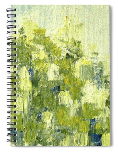 Bladverk I Motljus   - Sunlit Leafs_0159 Up To 76 X 56 Cm Spiral Notebook