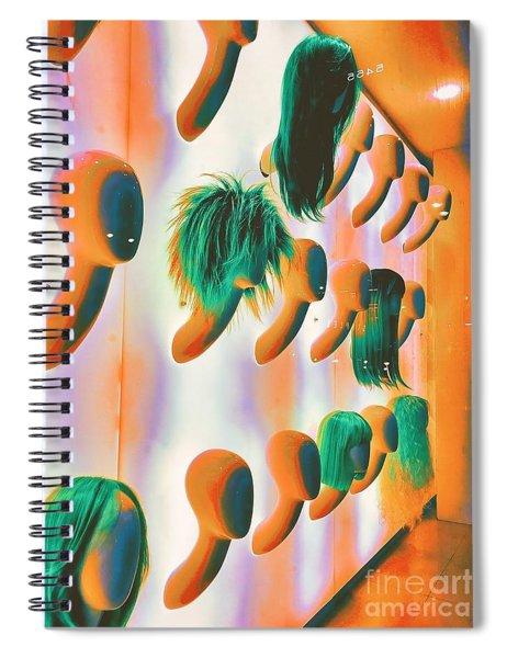 Blank Stares Spiral Notebook