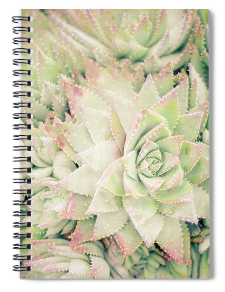 Blanket Of Succulents Spiral Notebook