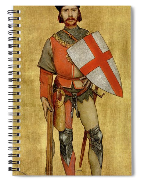 Blanket Of The Armed Saint George Guild Spiral Notebook