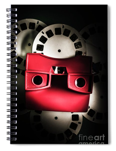 Blast Past A Retro Play Back  Spiral Notebook