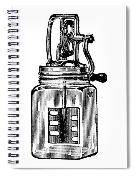 Blended Spiral Notebook by ReInVintaged