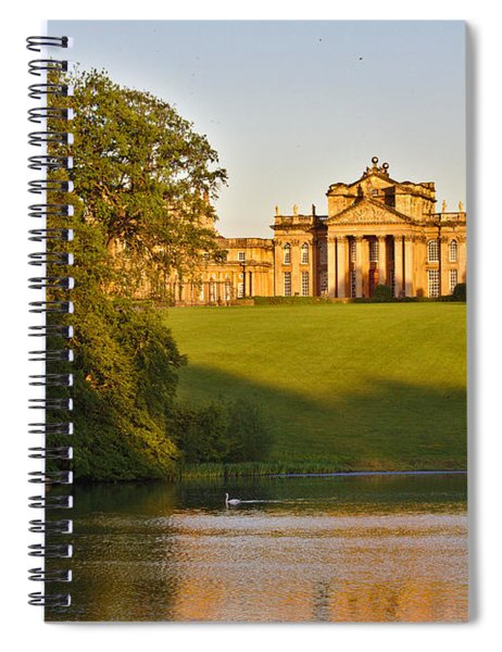 Blenheim Palace And Lake Spiral Notebook