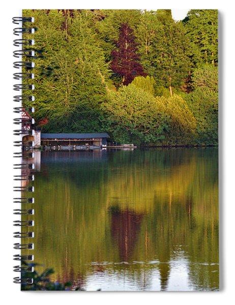 Blenheim Palace Boathouse 2 Spiral Notebook