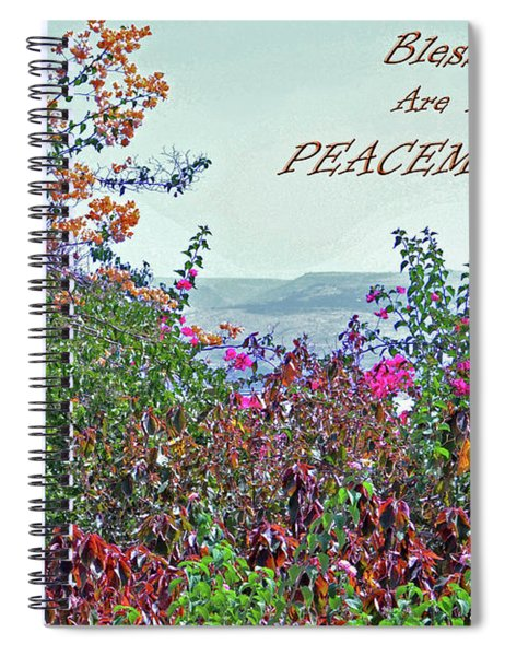 Blessed Are The Peacemakers Spiral Notebook