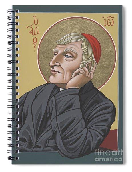 Blessed Cardinal John Henry Newman 221 Spiral Notebook