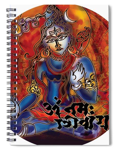 Blessing Shiva Spiral Notebook
