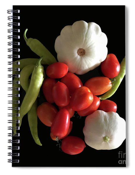 Blessings From The Garden Spiral Notebook
