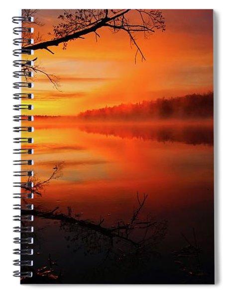 Blind River Sunrise Spiral Notebook