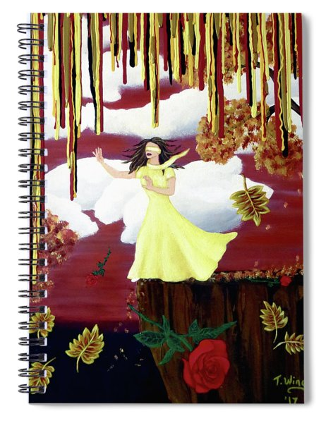 Blinded By Love Spiral Notebook