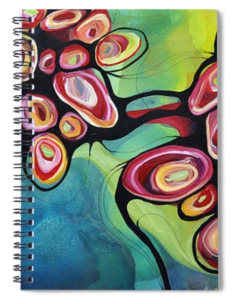 Bliss And Detachment Spiral Notebook