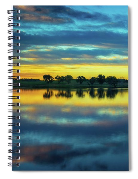 Spiral Notebook featuring the photograph Bliss by John De Bord