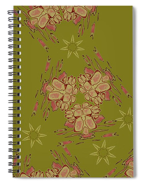 Blob Head Revisited Spiral Notebook