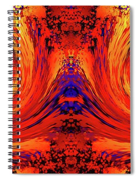 Blodger Abstract Spiral Notebook