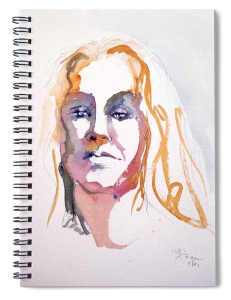 Blonde #1 Spiral Notebook