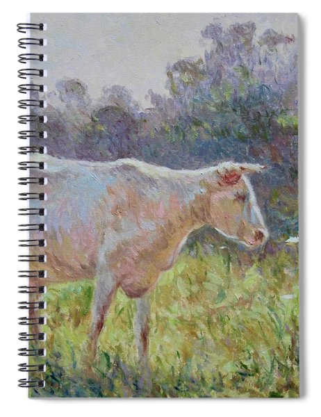 Blonde D'aquitaine Spiral Notebook
