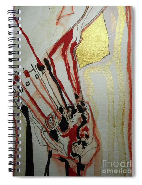 Blood Flowers Spiral Notebook