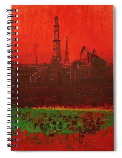 Blood Of Mother Earth Spiral Notebook