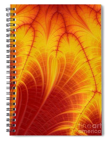 Blood Orange Spiral Notebook