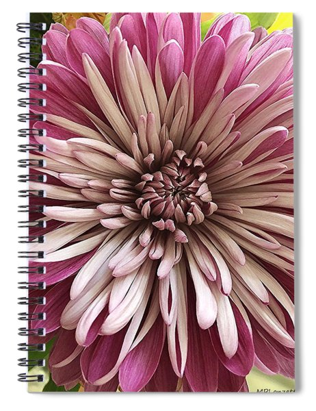 Bloom Of Pink Spiral Notebook