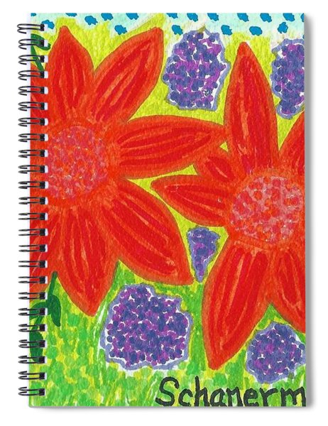 Bloomin' Blossoms Spiral Notebook