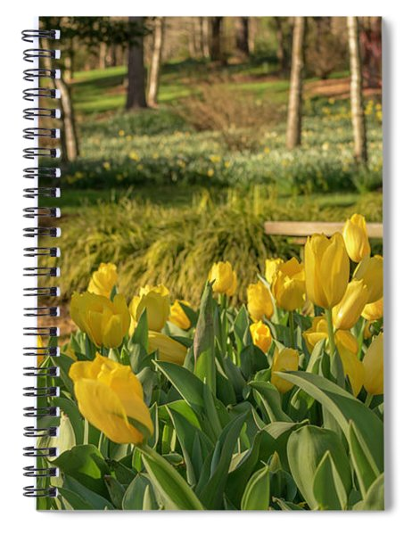 Bloomin Tulips Spiral Notebook
