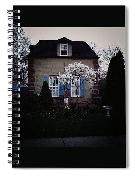 Blooming Tree Spiral Notebook