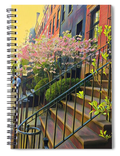 Blooms Of New York Spiral Notebook