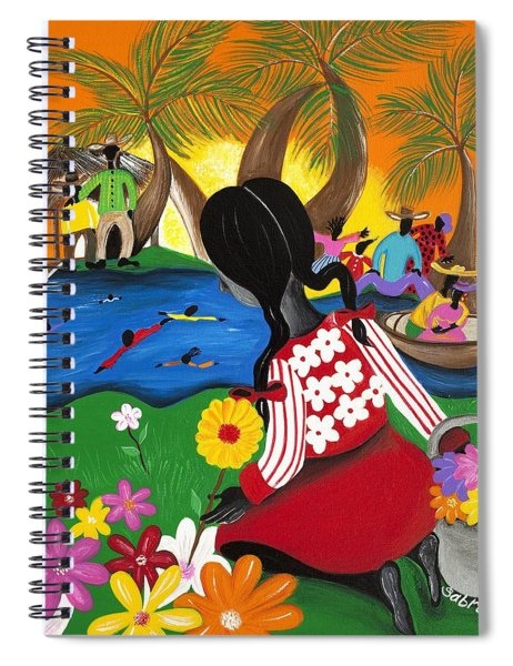 Blossom Spiral Notebook