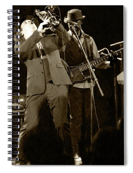 Blow Boney Blow Spiral Notebook