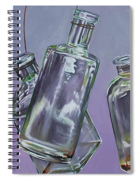 Blowing Rock Bottles Spiral Notebook