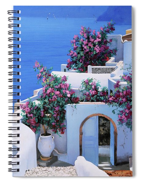 Blu Di Grecia Spiral Notebook