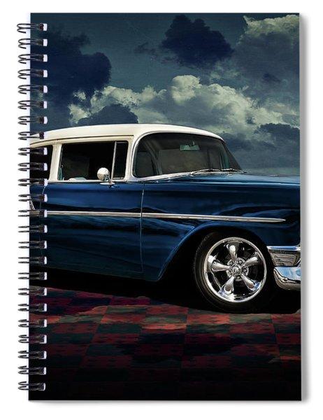 Blue '56 Spiral Notebook