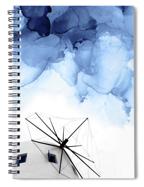 Stormy Weather II Spiral Notebook