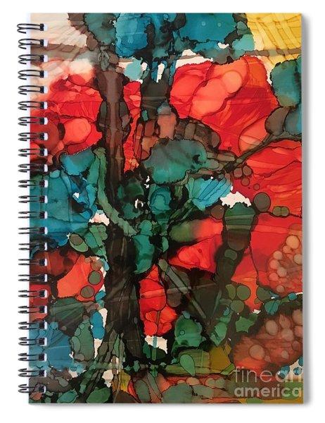 Sunset Soon Forgotten Spiral Notebook