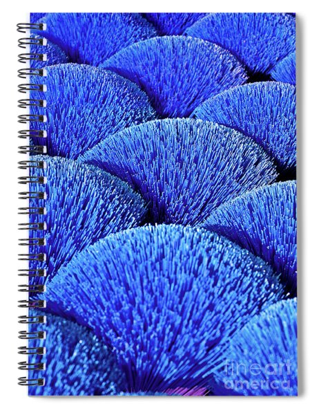 Blue Asia Sound Spiral Notebook