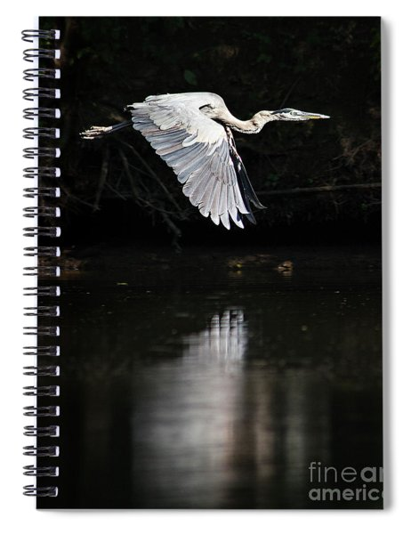 Blue Ballet Spiral Notebook