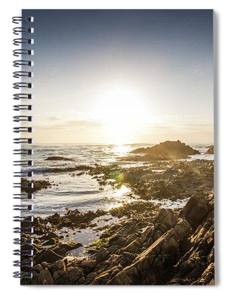 Blue Beach Beauty Spiral Notebook