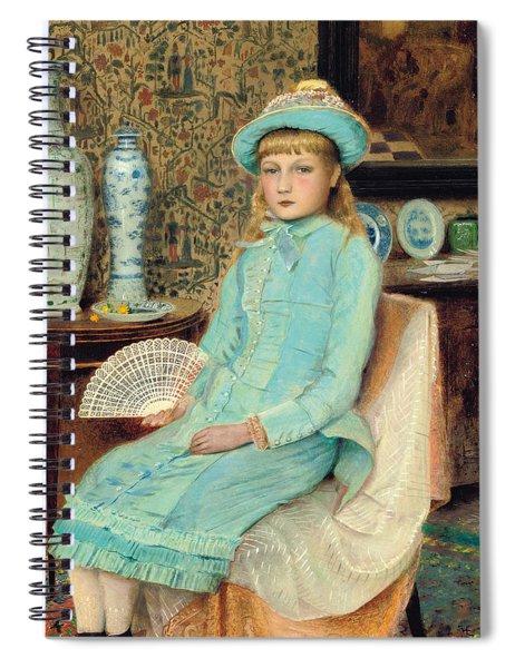 Blue Belle Spiral Notebook