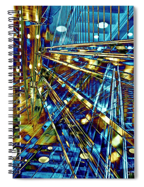 Blue Berlin Sound Spiral Notebook
