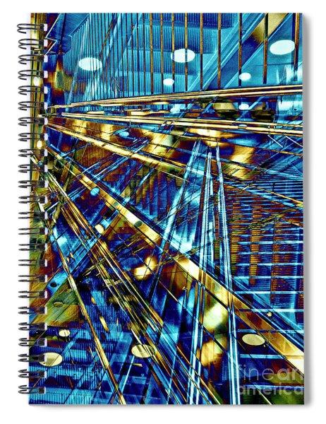 Blue Berlin Sound Spiral Notebook