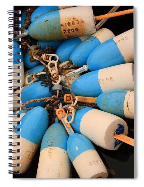 Blue Bouys Spiral Notebook