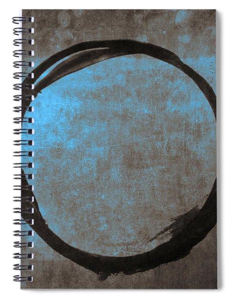 Blue Brown Enso Spiral Notebook