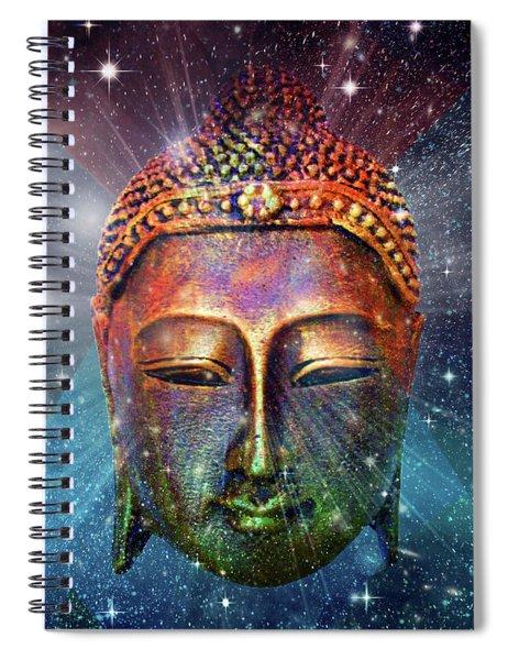Blue Buddha Spiral Notebook