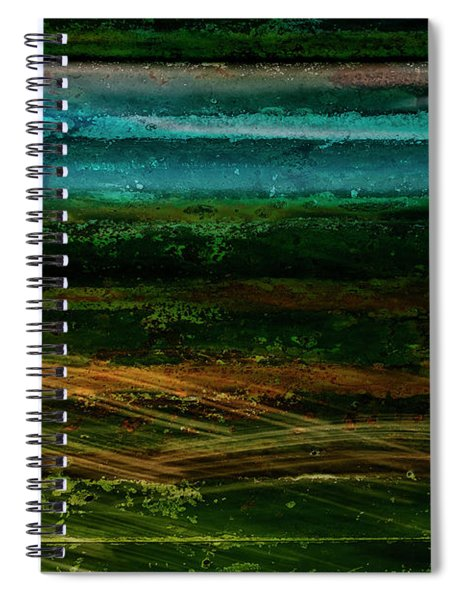 Blue Canoe Spiral Notebook