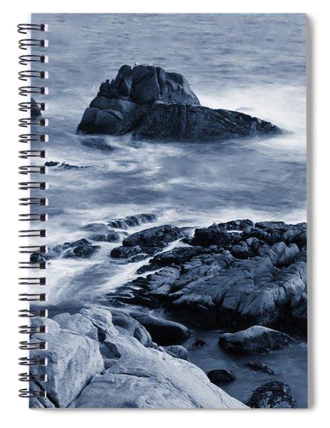 Blue Carmel Spiral Notebook