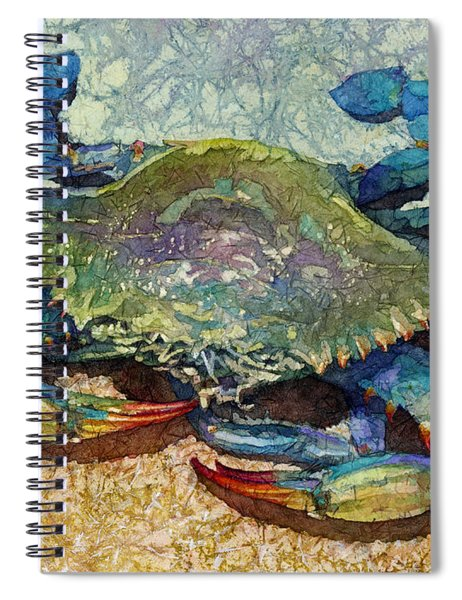 Blue Crab Spiral Notebook