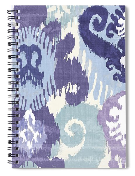 Blue Curry I Spiral Notebook by Mindy Sommers